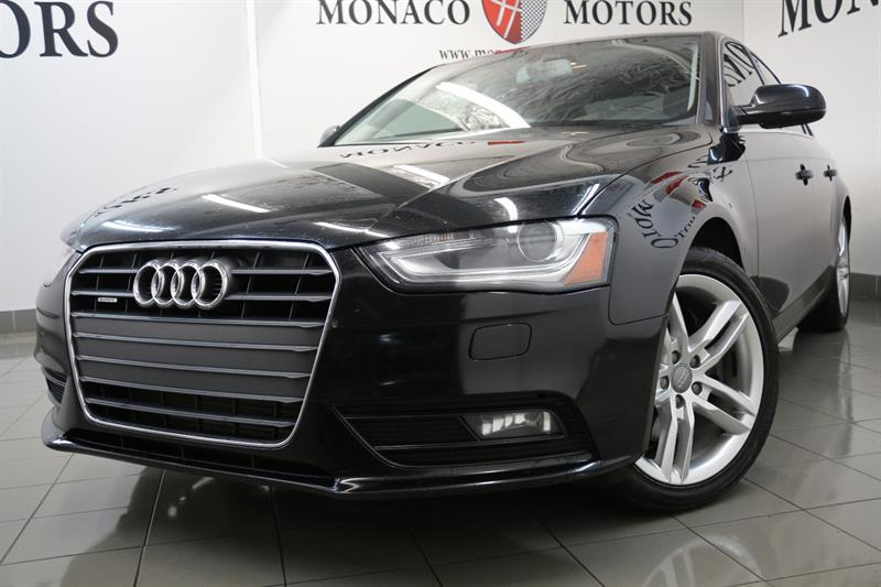 2013 Audi A4 PREMIUM PLUS QUATTRO NAV TECH PACKG #8208