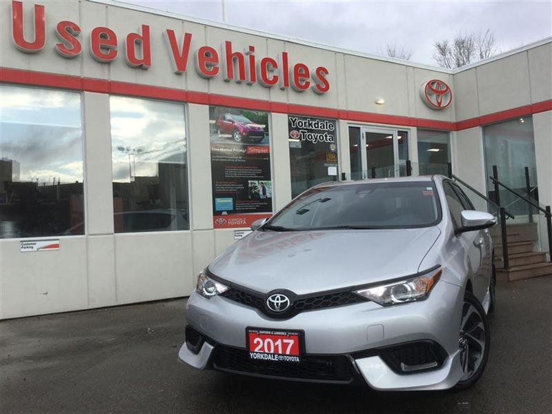 2017 Toyota Corolla iM H.Seats   Alloys   R.Cam   B.Tooth   Keyless #P6982