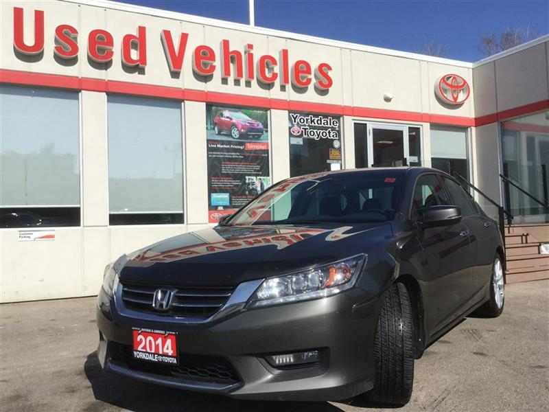 2014 Honda Accord Touring   Navi   Leather   Sunroof   R.Cam #P7057