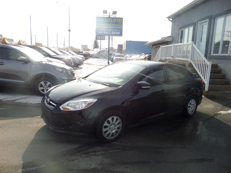 Ford Focus 2013 SE ++ BAS MILLAGE #17-256A