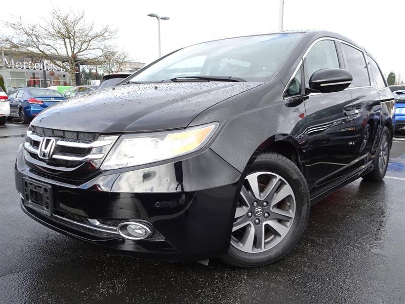 2016 Honda Odyssey Touring! Honda Certified Extended Warranty to 120, #LR3603