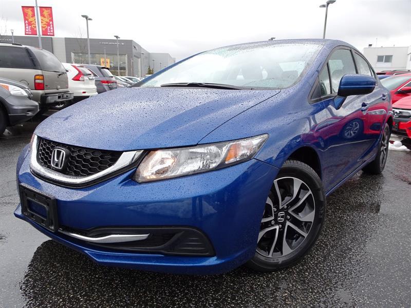 2015 Honda Civic Sedan EX CVT! Honda Certified Extended Warranty to #LH7923