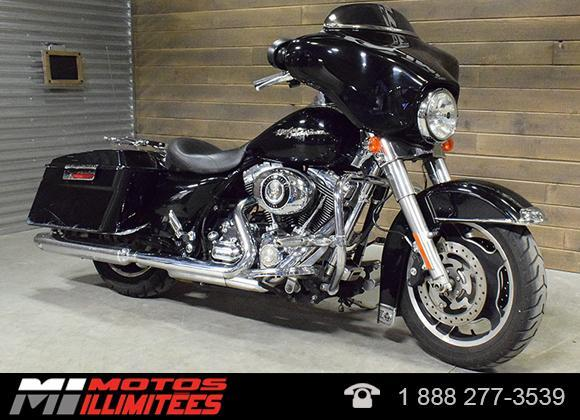 harley davidson flhx street glide 2009 occasion vendre terrebonne motos illimit es qu bec. Black Bedroom Furniture Sets. Home Design Ideas