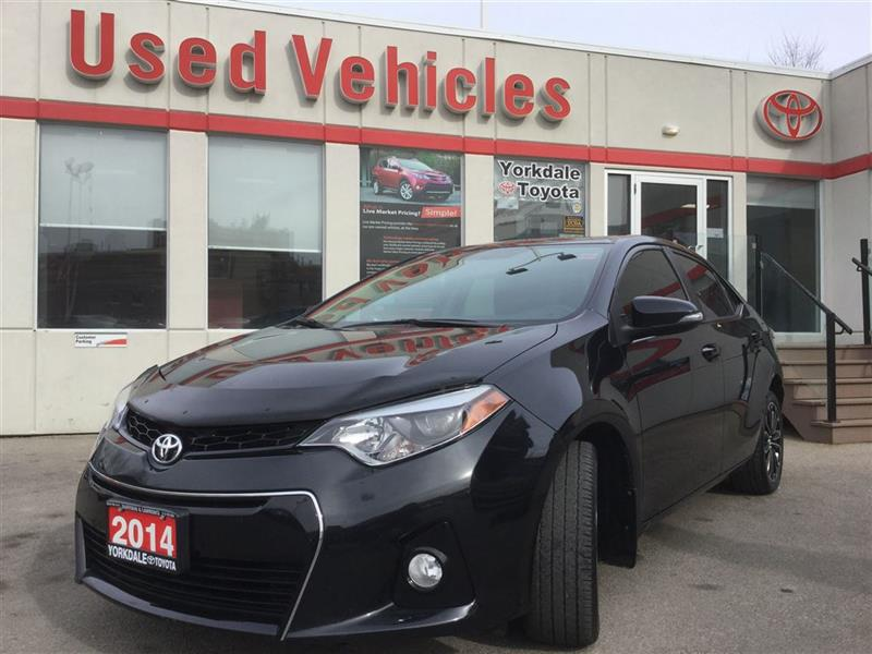2014 Toyota Corolla S   R.Cam   H.Seats   Alloys   B.Tooth #P7009