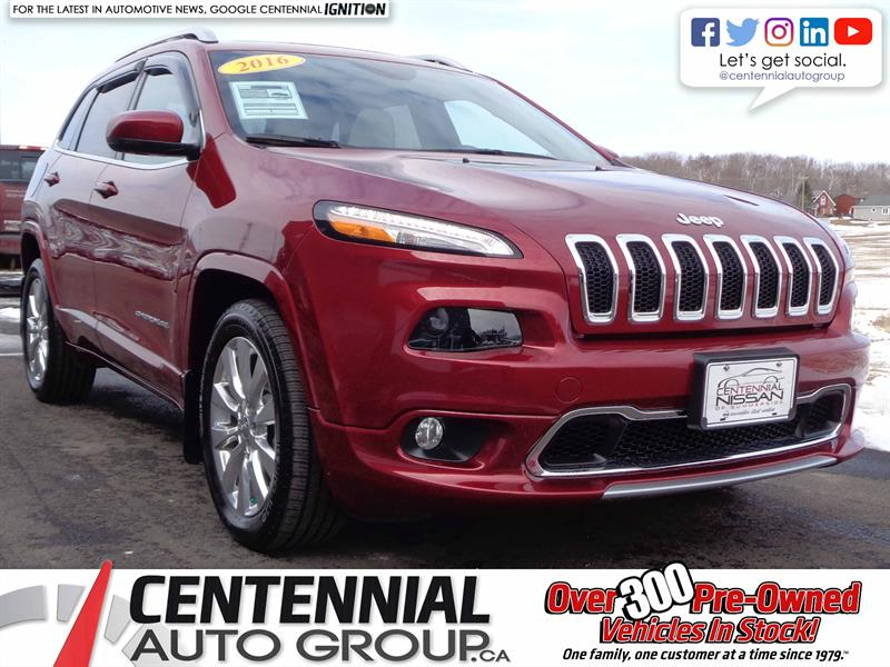 2016 Jeep Cherokee Overland | i4-Cyl #S18-039A