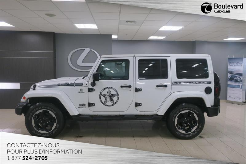 Jeep Wrangler Unlimited 2014 Sahara POLAR EDITION #14157A