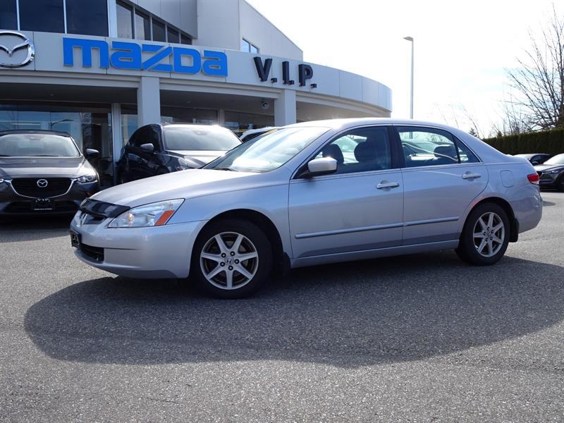 2004 Honda Accord AUTO, SUNROOF, LEATHER #7439A