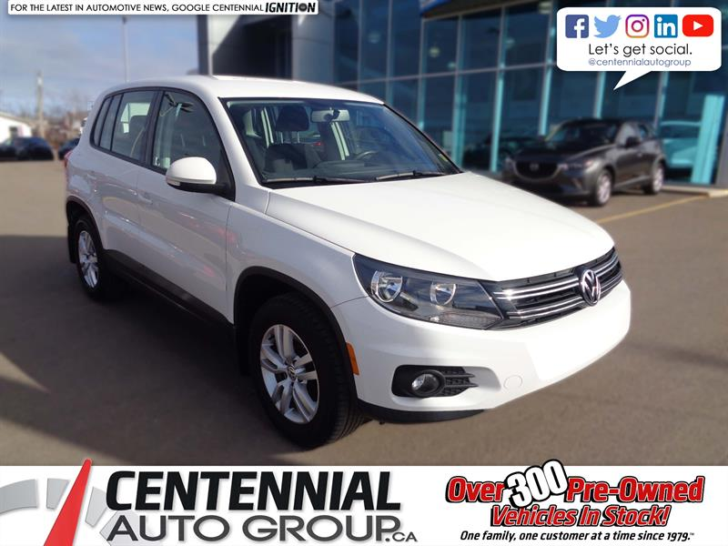 2014 Volkswagen Tiguan 4MOTION 4dr Auto Used for sale in Charlottetown at Centennial Auto Group