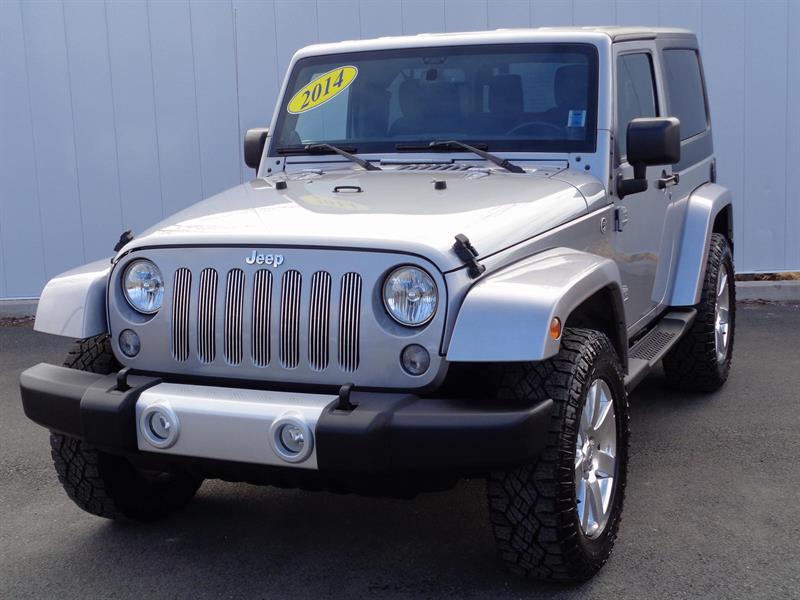 2014 Jeep Wrangler Sahara #C0112A