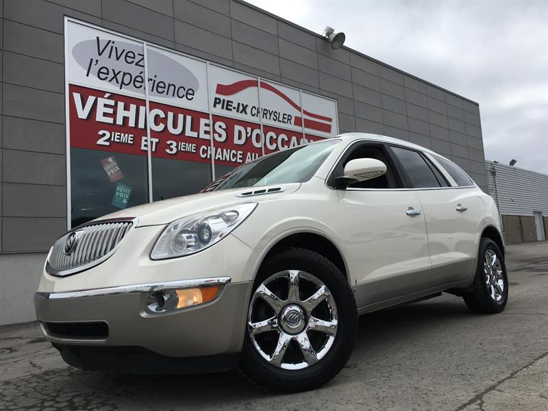 Buick Enclave 2008 AWD 4dr CXL+CUIR+NAV+DVD+TOIT+7PASSAGER+WOW! #18336A