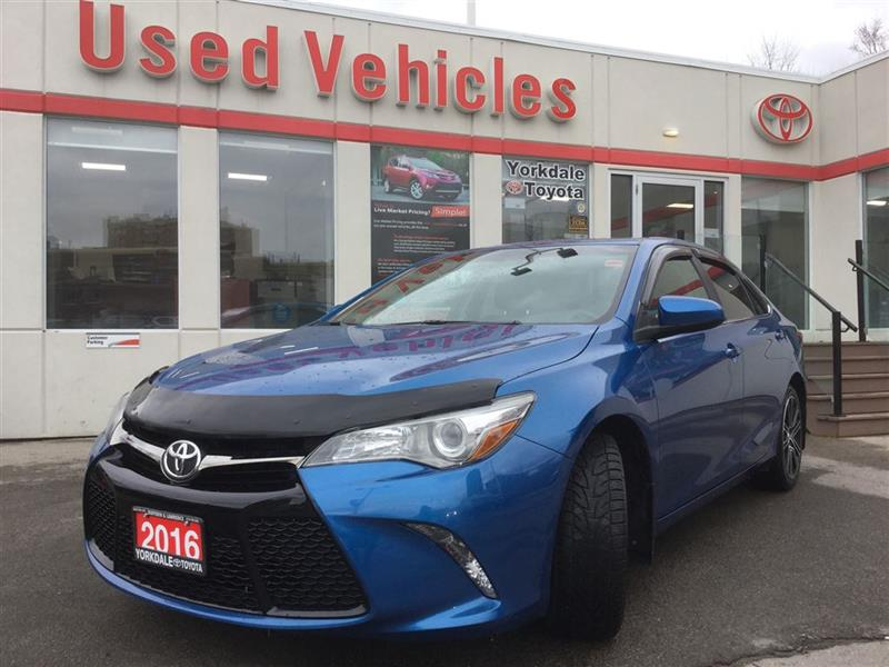 2016 Toyota Camry SE SPECIAL EDITION - S.ROOF  LEATHER/CLOTH  B.CAM  #P7049