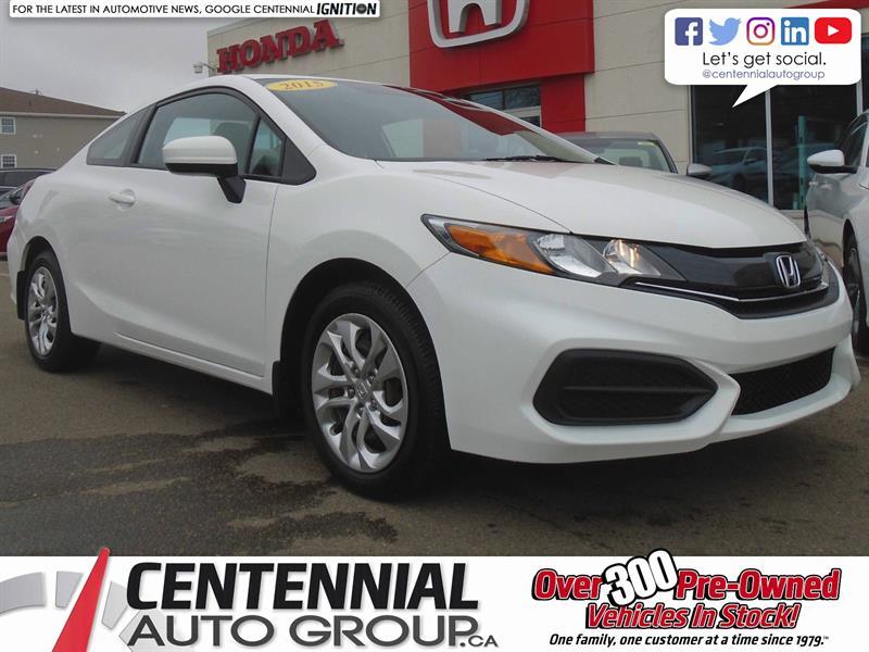 2015 Honda Civic Coupe LX | 1.8L | Heated Seats | Bluetooth #9083A