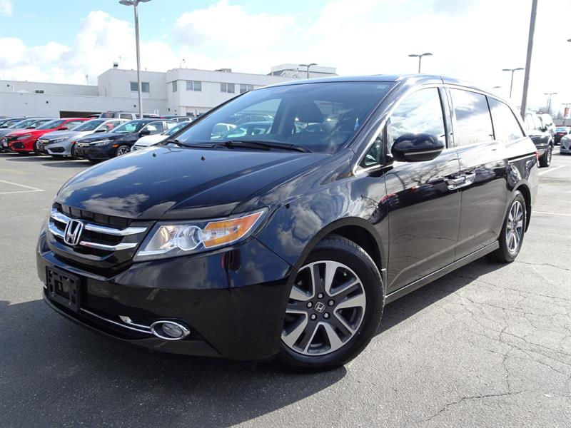 2014 Honda Odyssey Touring! Honda Certified Extended Warranty to 120, #LH7937