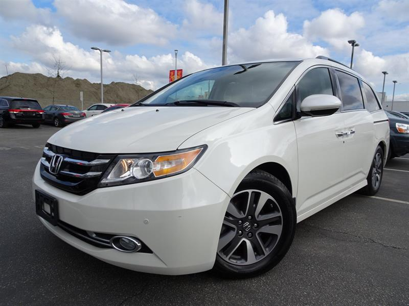 2016 Honda Odyssey Touring! Honda Certified Extended Warranty to 120, #LH7961