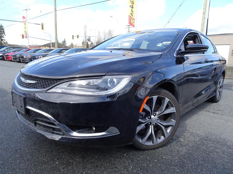 2016 Chrysler 200 C  - Low Mileage #18UP66