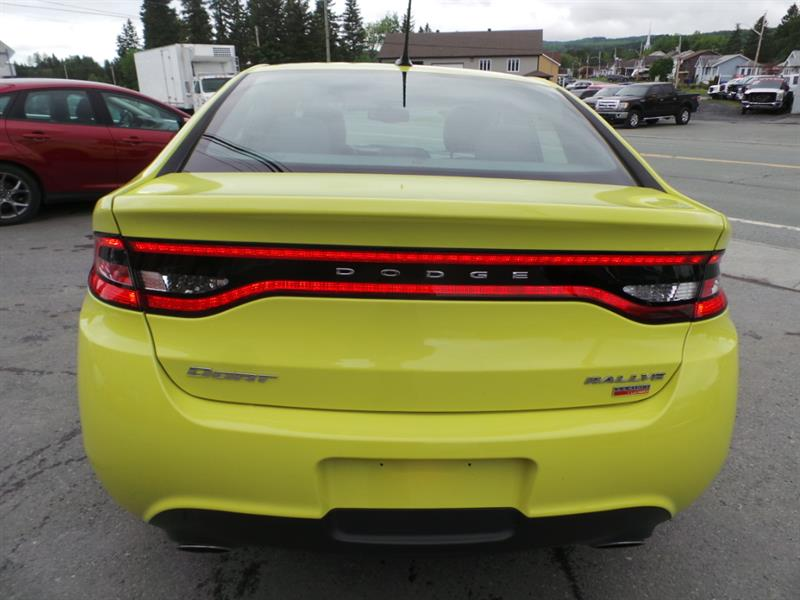 Dodge dart 1 4l turbo rallye auto 2013 occasion vendre for Garage daniel auto