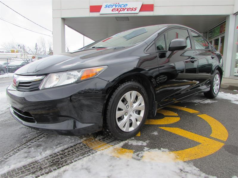 Honda Civic Sdn 2012 4dr Man DX LIQUIDATION #44397