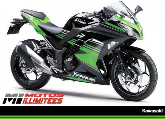 Kawasaki Ninja 300 ABS Kawasaki Racing Team 2016