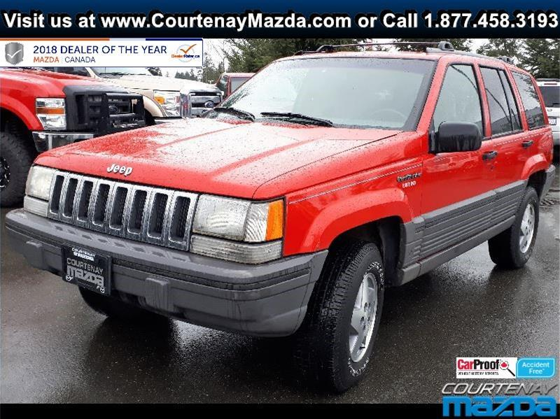 1995 Jeep Grand Cherokee 4WD 4Dr Laredo. Air Conditioning U2013 Power Windows U2013  Power Door Locks U2013 4X4 U2013 Delay Wipers U2013 Cruise Control