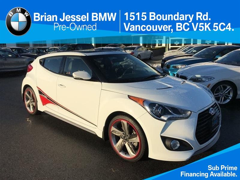 2015 Hyundai Veloster Turbo 6sp only $149 bi weekly! #BP505620