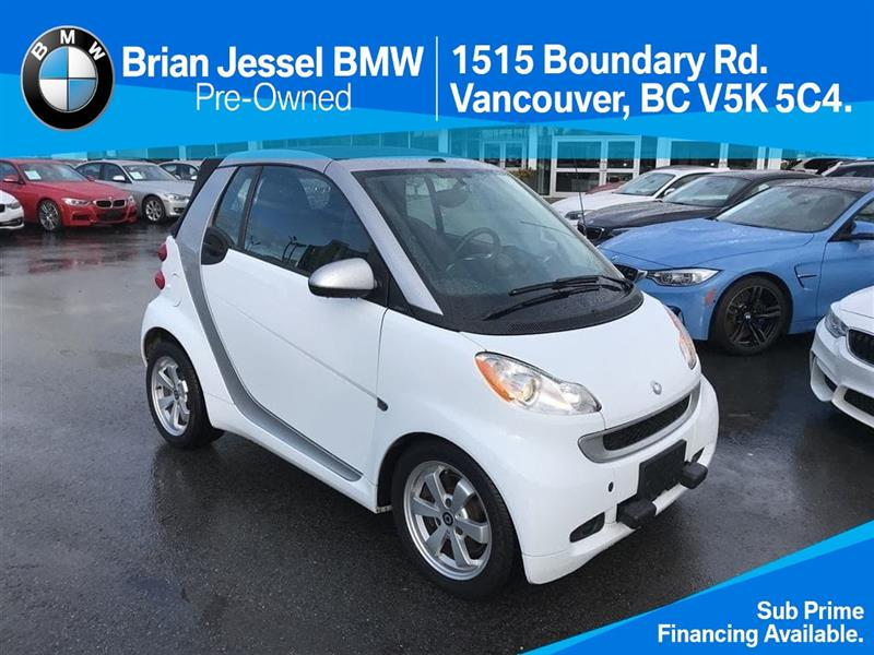 2011 Smart fortwo passion cab only $99 bi weekly #BP577410