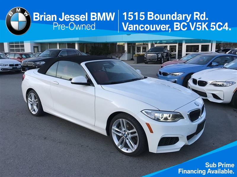 2016 BMW 2 Series 228i xDrive Cabriolet #BP6047