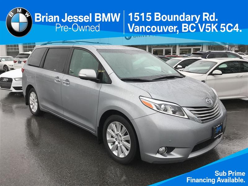 2016 Toyota Sienna LTD 7-Pass V6 6A #BP6030