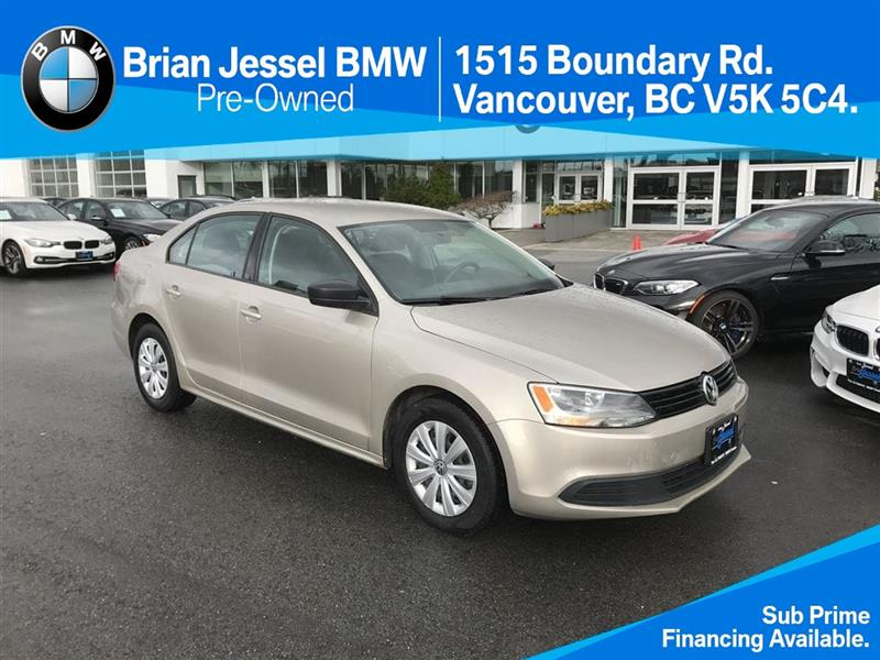 2012 Volkswagen Jetta Trendline plus 2.0 6sp w/Tip only $99 bi weekly #BP6028