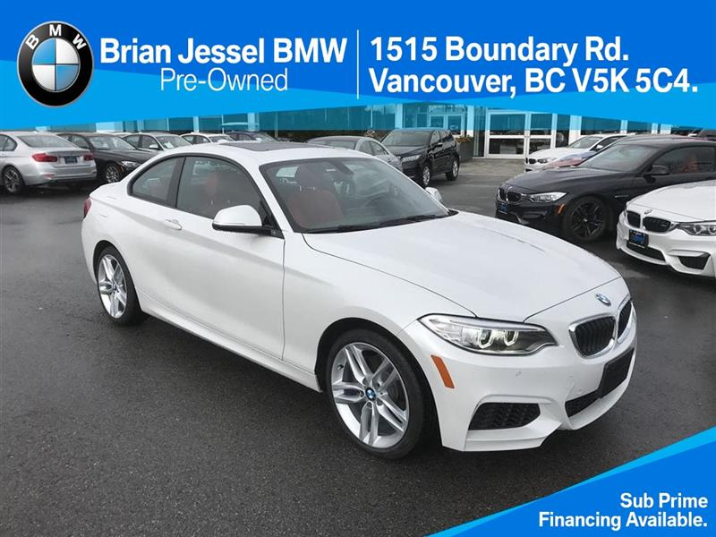 2016 BMW 2 Series 228i xDrive Coupe #BP6009