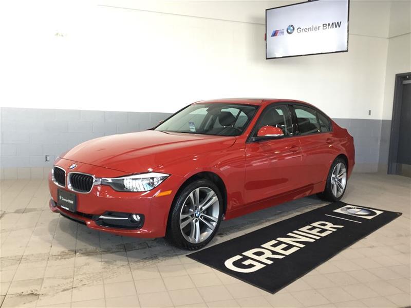 2015 BMW 320I GROUPE NAVIGATION SPORT LINE 0.9% #B0262