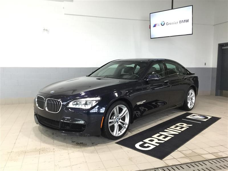 2014 BMW 750i xDrive M SPORT EXECUTIF GARANTIE PROLONGÉE 0.9% #180117A