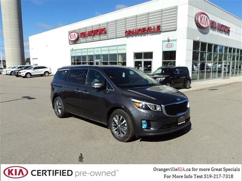 2018 Kia Sedona SX+ 7-pass - Leather/Power Doors/Tailgate #K0640