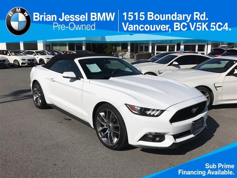 2017 Ford Mustang Convertible Ecoboost Premium #BP6240