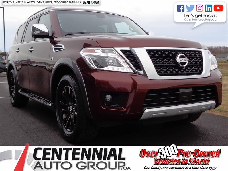 2017 Nissan Armada Platinum *DEMO CLEAROUT!* #17-109