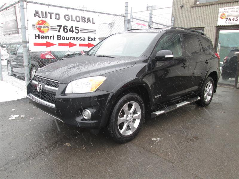 Toyota RAV4 2010 4WD 4 CYL, Limited,CUIR,TOIT,DÉMAREUR A DIS, #18-202