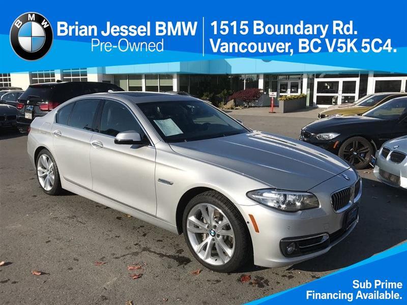 2014 BMW 5-Series 535i xDrive CPO Unlimited km #BP5534