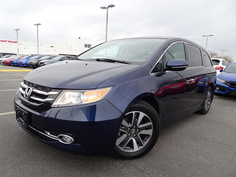 2016 Honda Odyssey Touring! Honda Certified Extended Warranty to 120, #LH7944
