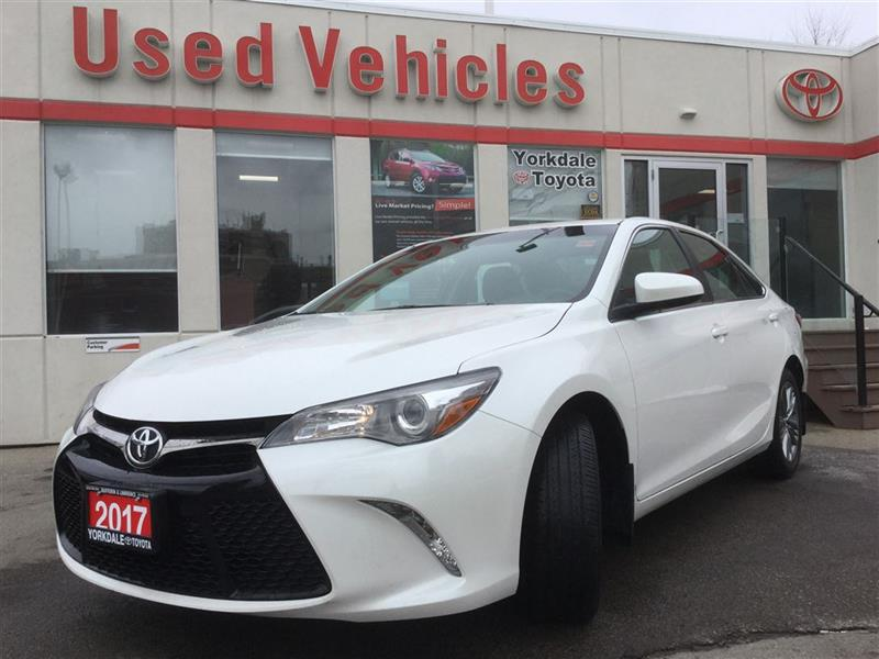 2017 Toyota Camry SE- B.Tooth  B.cam  Cruise  A/c  H.seats  Alloys #P7114