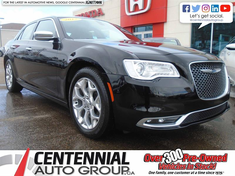 2017 Chrysler 300 C Platinum | AWD | NAVI | Bluetooth  #U1704