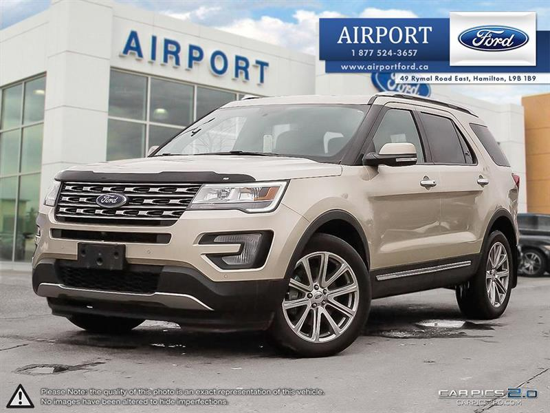 2017 Ford Explorer Limited 4WD with only 15,083 kms #A80379