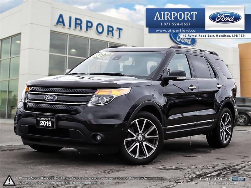 2015 Ford Explorer Limited 4WD with only 64,389 kms #D70988