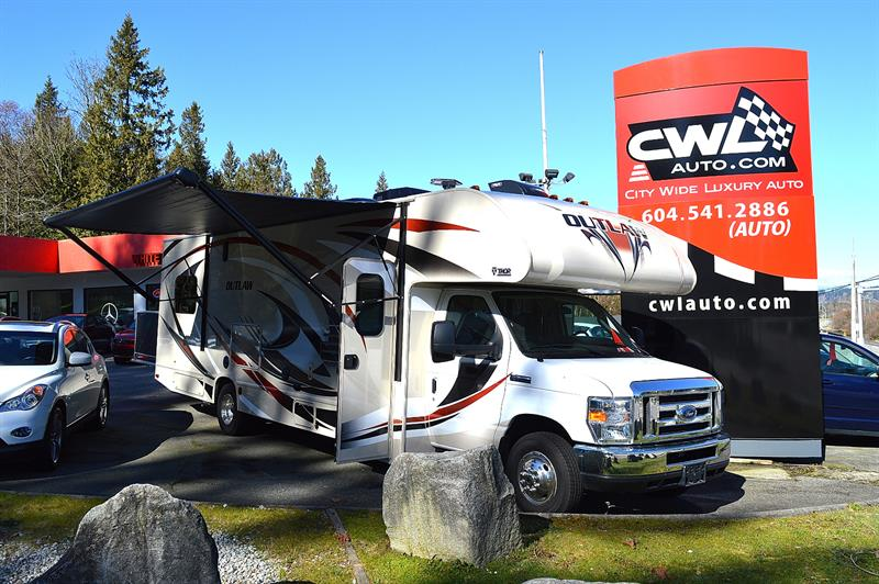 2016 Ford E-450 2017 Thor Outlaw 29H Toy Hauler #CWL8365M