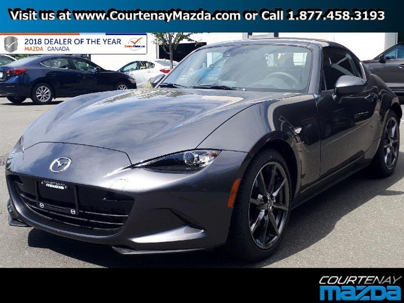2018 Mazda MX-5 RF GT 6sp Black Leather #18MX52971