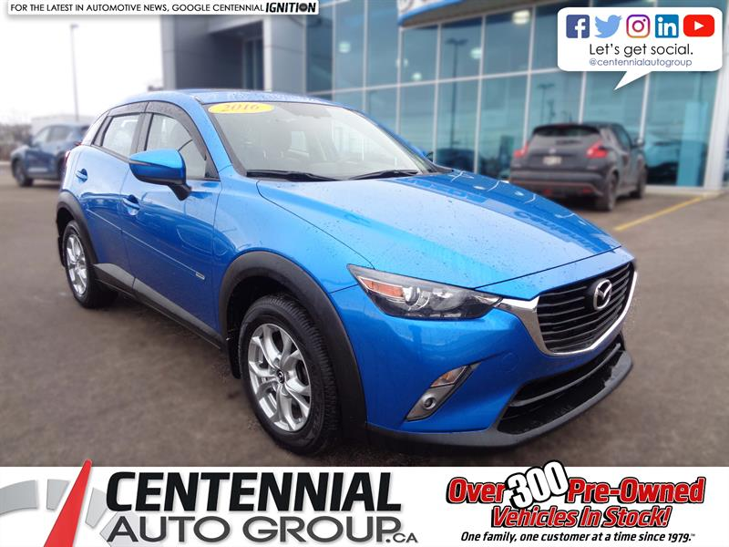 2016 Mazda CX-3 GS AWD #6009ZA