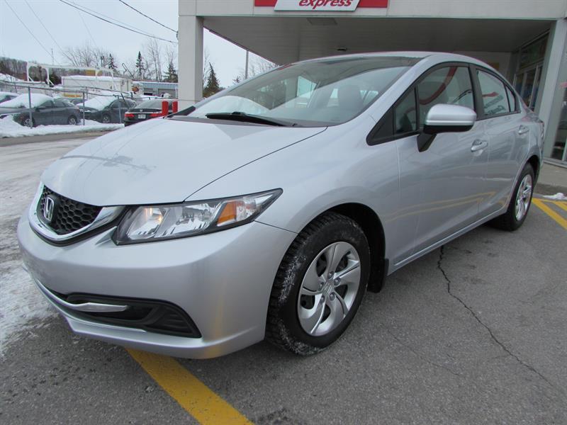 Honda Civic Sedan 2014 4dr CVT LX BLUETOOTH   #44412