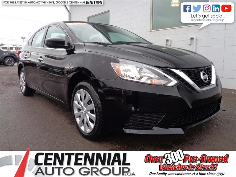 2017 Nissan Sentra S | FWD *2018 CLEAROUT - SAVE $2,605!* #17-127