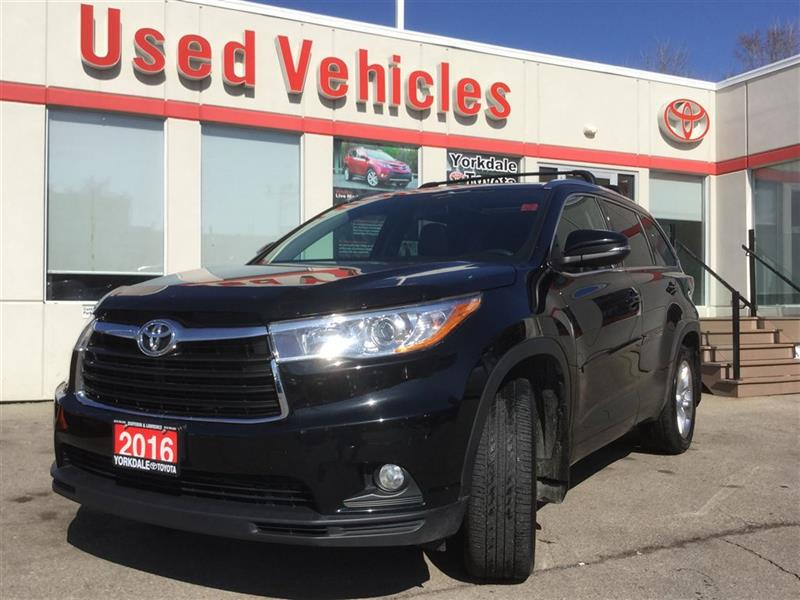 2016 Toyota Highlander Limited   Navi   Leather   Alloys   H&C Seats #P7013
