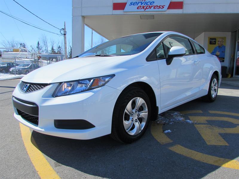 Honda Civic Cpe 2013 2dr Auto LX BLUETHOOT #44422