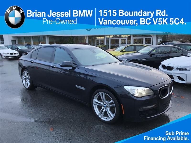 2013 BMW 7 Series 740Li xDrive CPO Unlimited km #BP5417