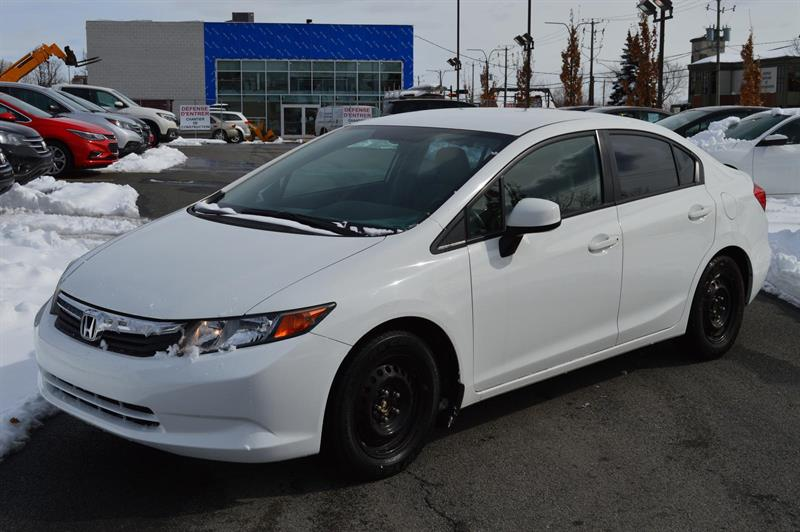 Honda Civic 2012 LX #K5174A